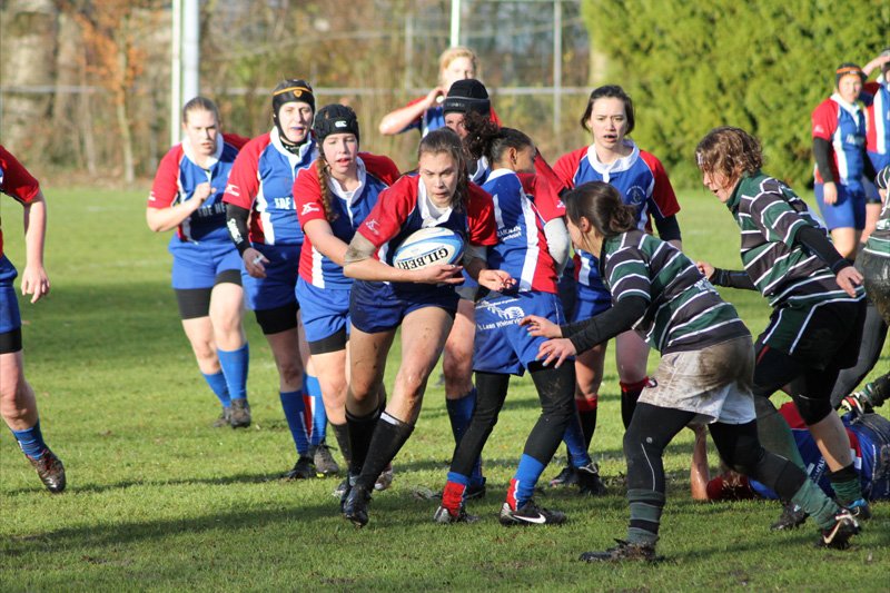 Tweede Klasse Noord Dames: RC Waterland - RC the Pickwick Ladies (17-10)