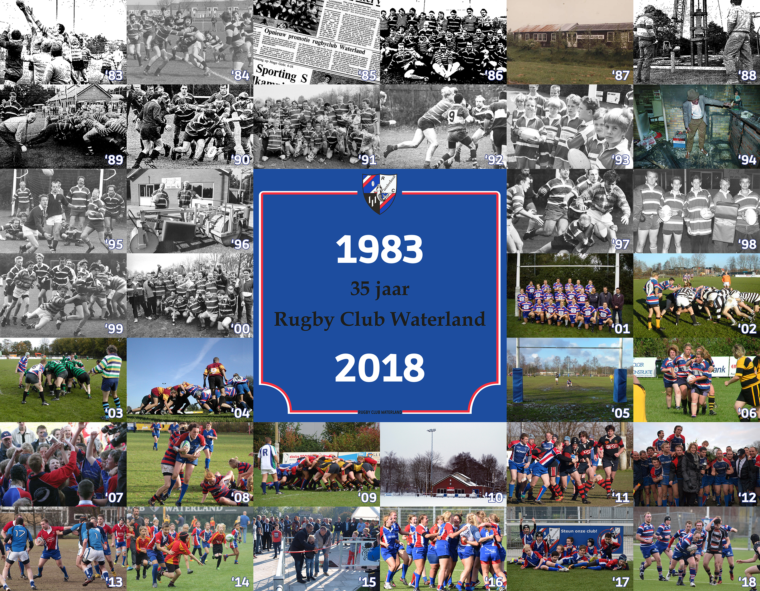 Rugby Club Waterland 35 jaar