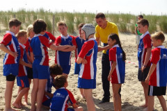 Beachrugbytoernooi in Den Haag