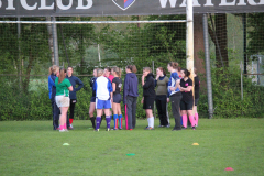 Dames Rugby Training