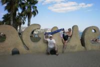 Malaga - Met Richard en Sylvia (2014)