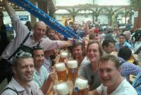 München (Oktoberfest) - Met Rob, Dick, Sparky, James en Ollie (2013)