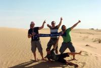 Dubai - Met Erik, Rob, Mark en Rolf (2010)