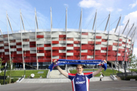 Nationaal Stadion in Warschauw - Met Marijn (2012)