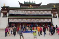 Bij het Labrangklooster Xiahe China - Met Jiminy en Cody de Koningh (2014)