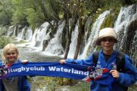 Jiuzhaigou Valley Songpan China - Met Jiminy en Cody de Koningh (2014)