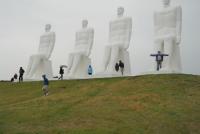 De Mens ontmoet de Zee in Esbjerg te Denemarken - Met Hans (2012)