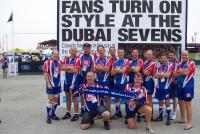 Dubai Sevens - Met o.a. Erik, Peter, Peter de W, Rob, Vincent, Dick, Robert, Hans en Peter (2012)
