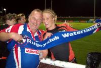 Dubai Sevens - Hans Le Noble en Inge Visser (2012)