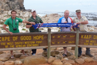 Kaap de goede hoop in Zuid Afrika - Met Arjan, Zander, Bart en Hans (2011)