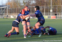 DeGiro Ereklasse Dames, 2e fase: RCW JuRo Unirek 1 - All Blues 1