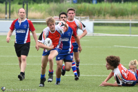 Eindelijk! Let's play rugby!