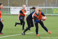 Girls Rugby Festival bij Rugby Club Waterland