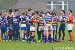 Junioren Bowl Poule A 2e fase: RC Waterland - Haagsche RC 2