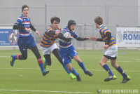 Junioren Bowl Poule A, 2e fase: RC Waterland - Haagsche RC 2