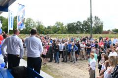 Opening clubhuis: Officiële opening
