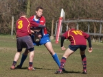 RC Waterland Junioren - Evesham RFC U16 (31-22)