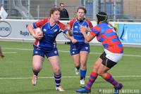 DeGiro Ereklasse Dames: RCW JuRo Unirek 1 - Utrechtse RC 1 (Foto: Maarten Rabelink)