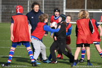 Rugbyclinic Rugby Academy NoordWest bij RC Waterland