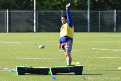 Training Benjamins bij Rugby Club Waterland op 14 mei 2020