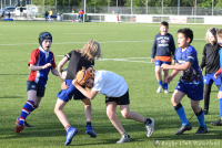 Training Benjamins bij Rugby Club Waterland op 14 mei 2020