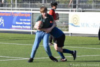 Training Mini's bij Rugby Club Waterland op 14 mei 2020