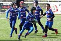 Turven en Benjamins bij Rugby Club Waterland