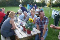 Vrijwilligers barbecue